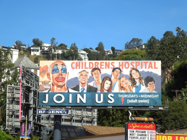 Childrens Hospital season 5 billboard
