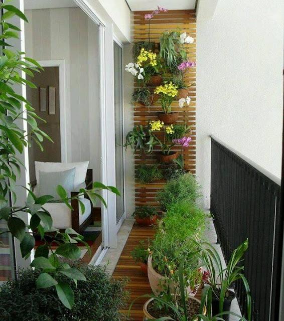 ideas de jardines para balcones