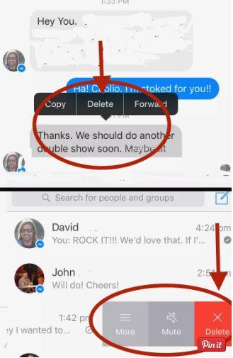 Cara Menghapus Semua Pesan di Messenger