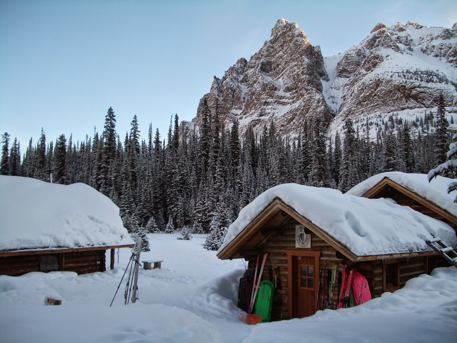 Family Adventures In The Canadian Rockies Winter Camping