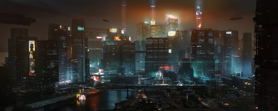 City Center night