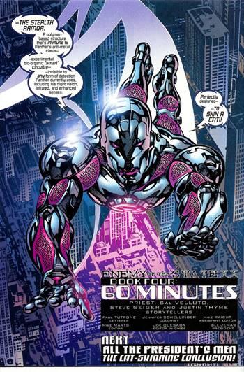Segunda armadura de sigilo de Iron Man