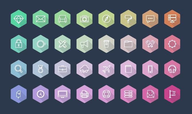 iconos-gratis-geometricos-de-colores