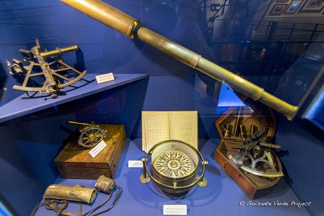 Instrumentos navegación - Museo Fram, Oslo por El Guisante Verde Project