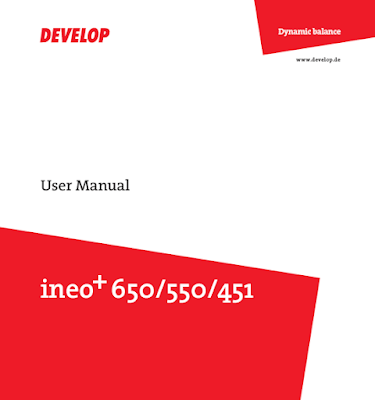 Develop Ineo+ 452 Manual