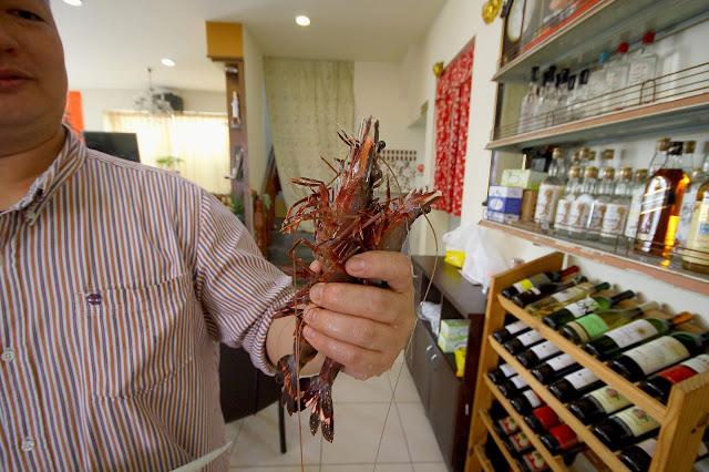 冰鎮野生海草蝦