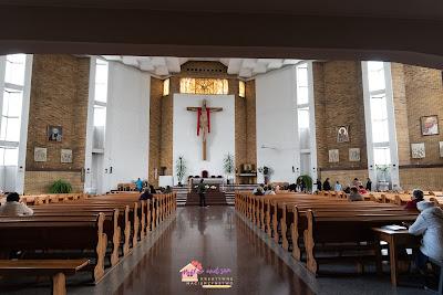 Kilka kadrów. Wspomnienie chrztu Kacperka. 5.05.2019