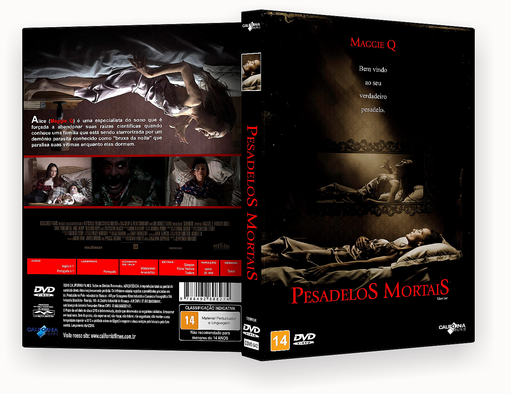 DVD-R – PESADELOS MORTAIS – OFICIAL