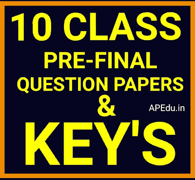 PRE - FINAL EXAMINATIONS - 2019 - 2020 All Subjects