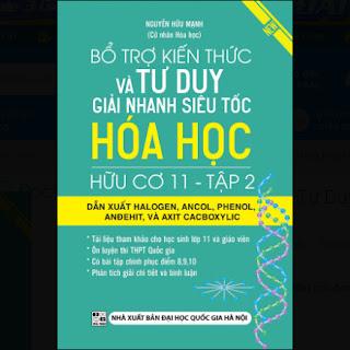 Bổ Trợ Kiến Thức Và Tư Duy Giải Nhanh Siêu Tốc Hóa Học Hữu Cơ 11 - Tập 2 ebook PDF-EPUB-AWZ3-PRC-MOBI