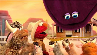 Elmo The Musical Cowboy the Musical, Count By Two Kid, Stand Shake Push, Double Double Dude Dude Ranch Ranch, Sesame Street Episode 4402 Don't Get Pushy season 44