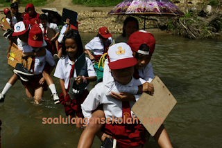 Kumpulan Soal Untuk UTS SD Semester 1/Ganjil Kelas 1 2 3 4 5 6 Siap Download