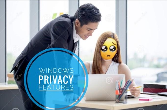 Windows secret privacy feature[ किसी और के देखते ही स्क्रीन होम पर चली जाएगी ]