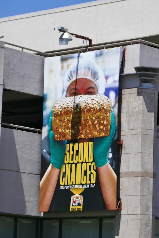 Second Chances Daves Killer Bread billboard
