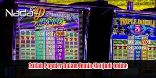 Istilah Populer Dalam Dunia Slot Judi Online