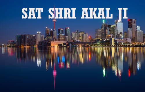 Sat Shri Akal Ji