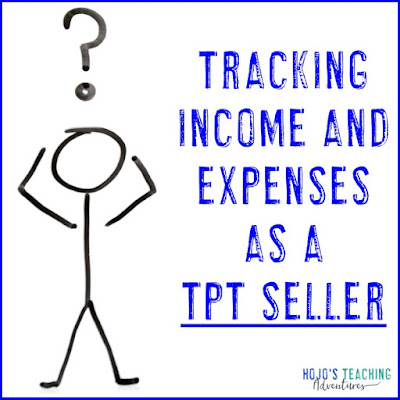 Tracking income and expenses as a TpT seller