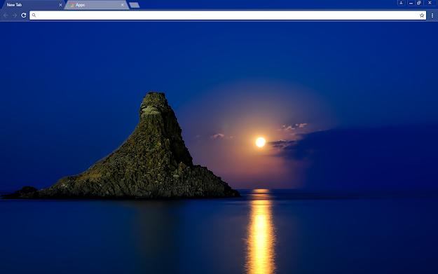 Blue Italy Google Chrome Theme