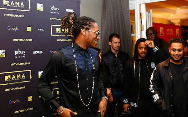 Singer Future in South Africa For MAMA 2016