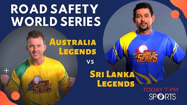 Australia Legends vs Sri Lanka Legends RSWS 2020 Match No 2