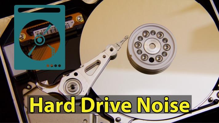 noisy hard drive