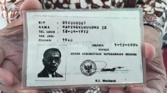 Disegani dan Dihormati, Inilah Pemilik NIP PNS Pertama di Indonesia