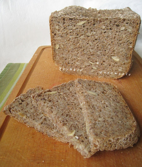Chleb żytni graham z otrębami