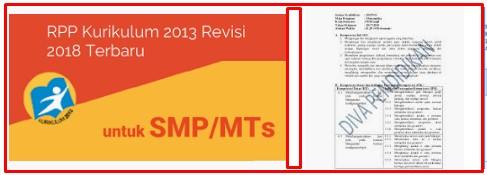 Download RPP Kelas 8 Untuk SMP K13 Rivisi 2018