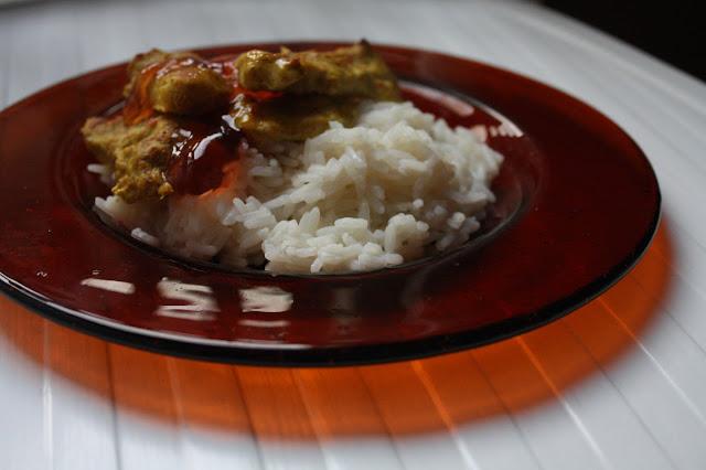 chicken tikka kana intia intialainen ruoka resepti riisi