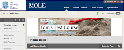 Example MOLE banner
