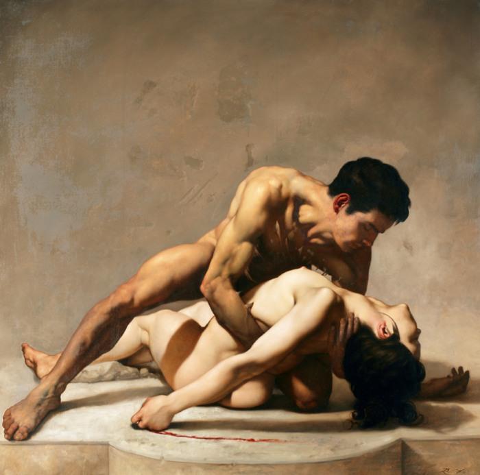 Итальянский художник. Roberto Ferri