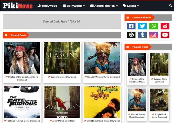 Free Movie Templates For Websites 2020 Download