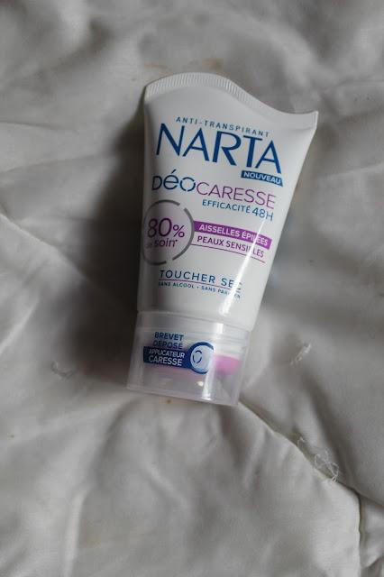 Anti-Transpirant Déocaresse Aisselles Épilées de Narta