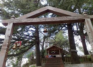 Mukteshwar Shiva Temple