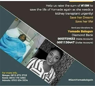 Widow Cries: Help, My Daughter Is Dying!