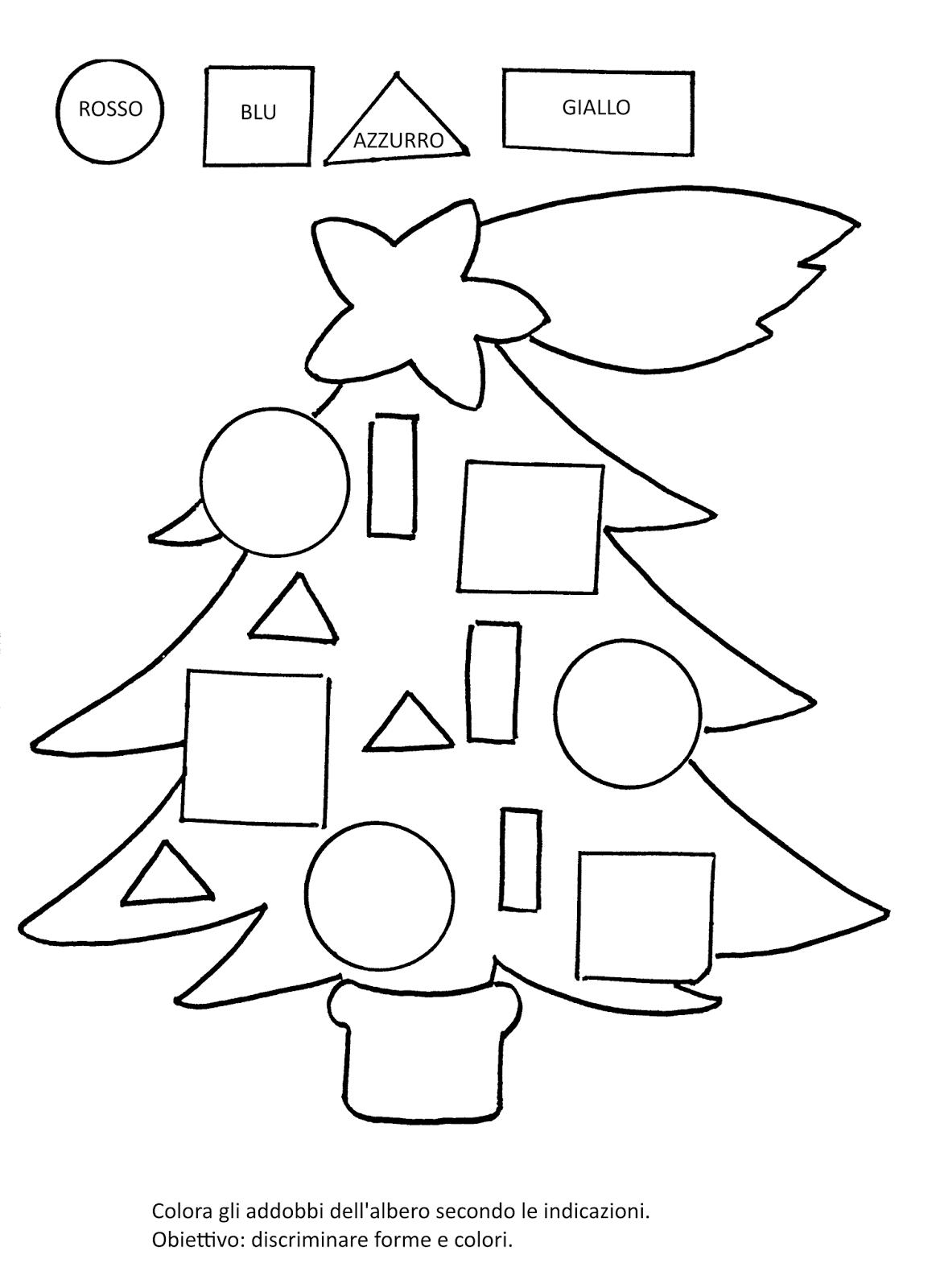 La Maestra Linda Schede Da Colorare Natale