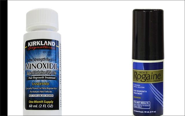 育毛剤ロゲインとカークランドを比較!