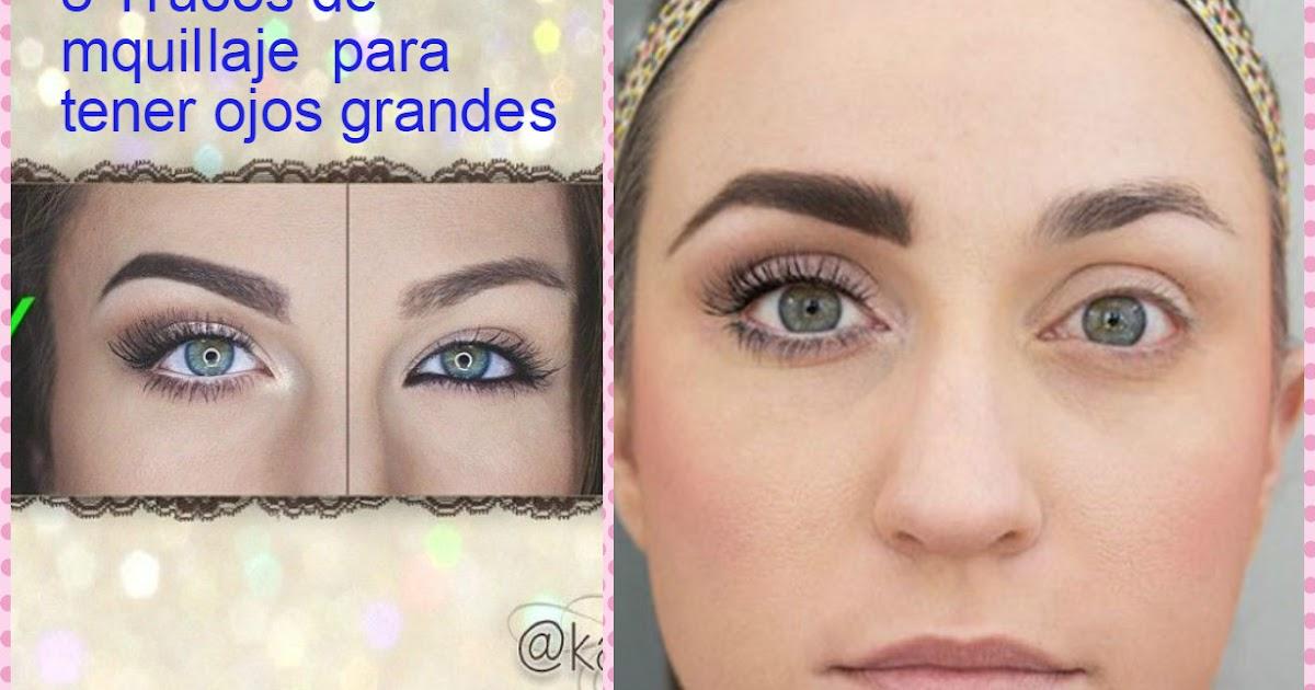 5 trucos de maquillaje para tener ojos grandes for Como se maquillan los ojos ahumados