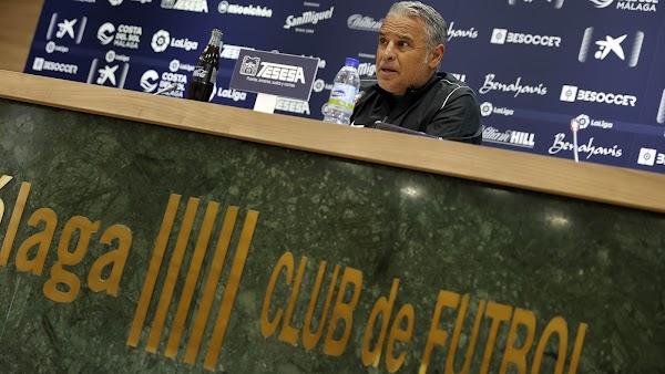 """Pellicer - Málaga -: """"Veo en los ojos de los jugadores ilusión por seguir compitiendo"""""""