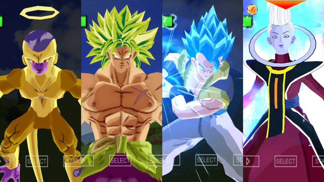 Dragon Ball Super Movie Broly All Characters
