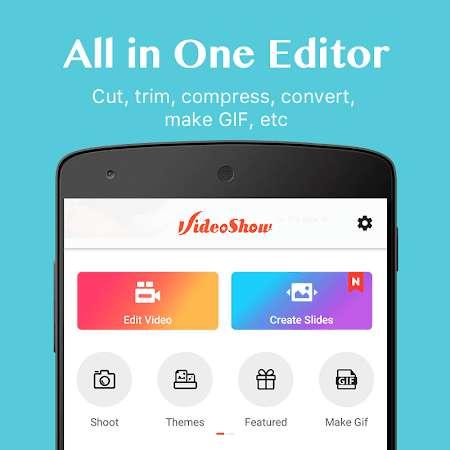 Download aplikasi VideoShow Mod Premium