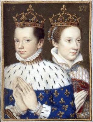 Η Μαρία Στιούαρτ με τον πρώτο σύζυγο της Φραγκίσκο Β΄