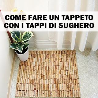 Fai Da Te: Come Fare Un Tappeto Con I Tappi Di Sughero