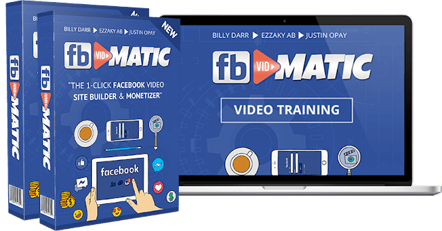 FB Vidmatic [The 1-Click Facebook Video Site Builder & Monetizer]