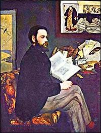 Manet: Portrait of Émile Zola