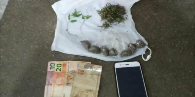 Homem é preso suspeito de tráfico de drogas em Barra da Estiva