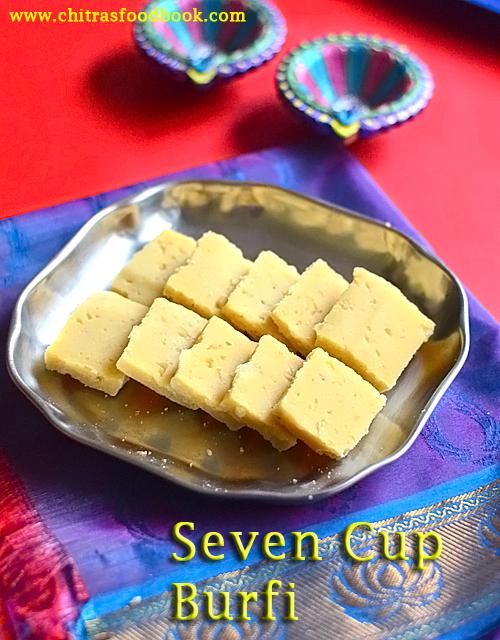 seven cup burfi