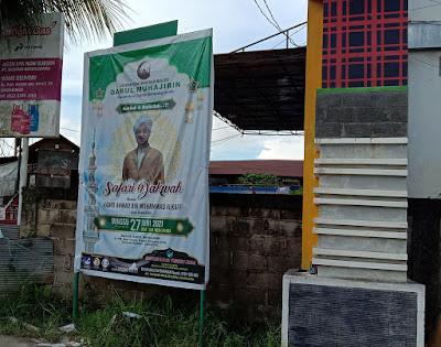 Banner Safari Dakwah 2x3 m