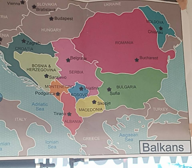 balkan haritası