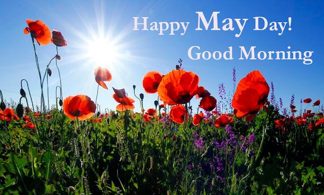 Good Morning Happy May Day.
